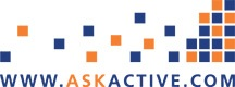 Ask active logo